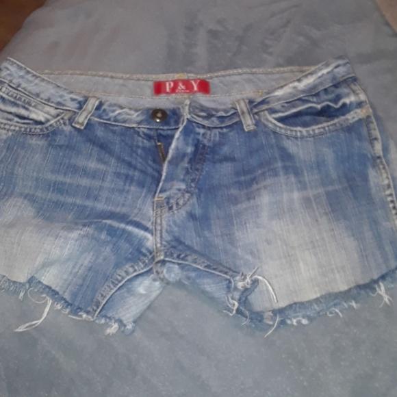 P&Y Denim Pants - Shorts